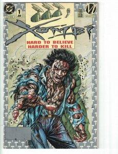 Xombi #1 VG platinum variant cover - DC/Milestone Comics 1994