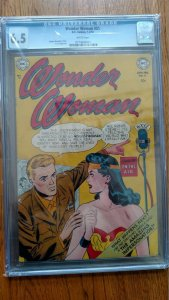Wonder Woman #51 (Jan 52, DC) CGC 6.5