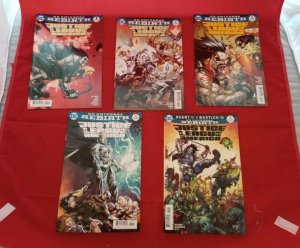 DC Universe Comics Rebirth, Justice League of America  #1-5 (1 2 3 4 5) NM