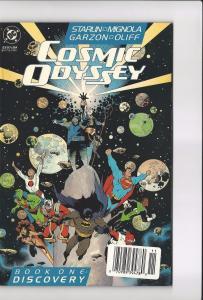 Lot Of 3 Cosmic Odyssey DC Comic Books # 1 2 3 VF/NM 1st Prints Batman Flash MM5