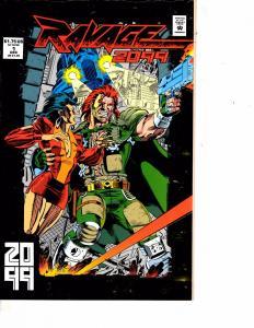 Lot Of 2 Marvel Comic Books Ravage 2099 #1 and Marvel Age #118  ON5
