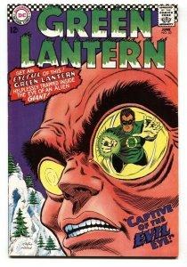 GREEN LANTERN #53 1967-DC-EVIL EYE COVER-INFANTINO ART VF+