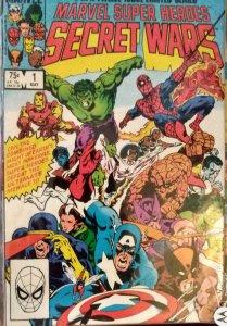 Marvel Super Heroes Secret Wars #1 (1984) 7.5+