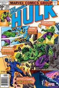 Incredible Hulk (1968 series) #215, VF- (Stock photo)