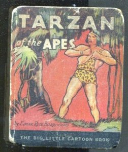 Tarzan Of The Apes #744 1933-ERB-art on every page-Big Little cartoon Book-P