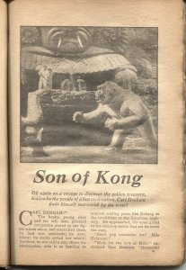 SURE FIRE SCREEN STORIES #1-1934-SON OF KONG-JOHN WAYNE-RARE-NEW COLLECTION