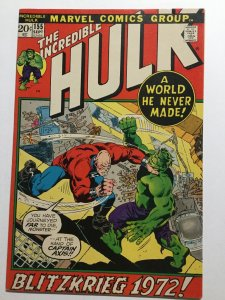 Incredible Hulk 155 Very Fine Vf 8.0 Marvel