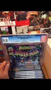 Amazing 418 Sensational 11 Spectacular 240 Spider-man 75 Revelations All Cgc 9.8