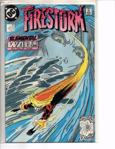 DC Comics Firestorm the Nuclear Man #90 Tom Mandrake Art