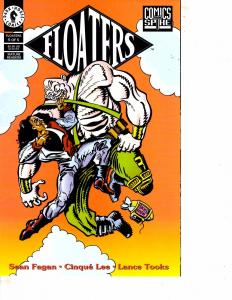 Lot Of 2 Comic Books Dark Horse Floaters #5  and Flatline Envictus #3 ON12