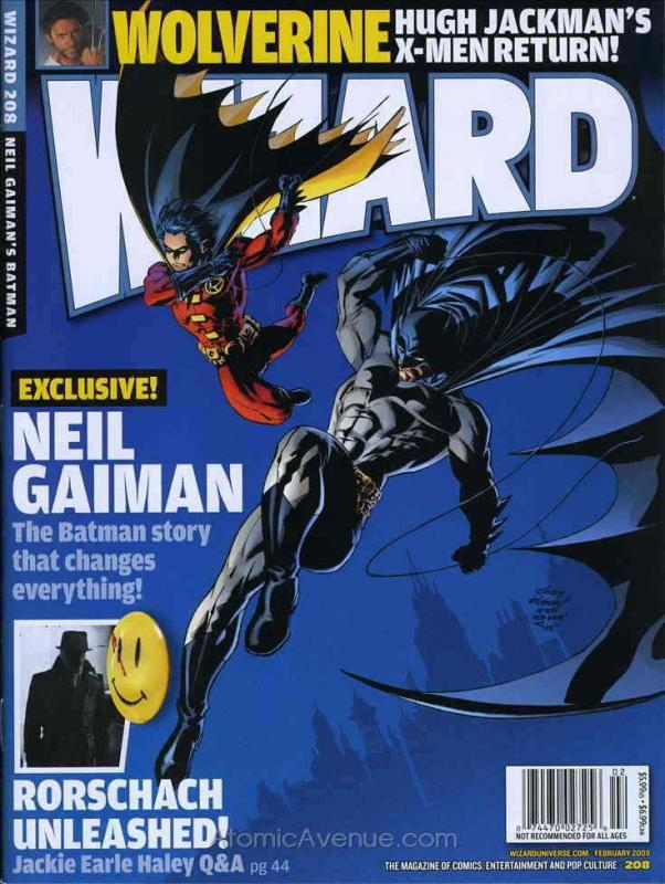 Wizard: The Comics Magazine #208B FN; Wizard | save on shipping - details inside