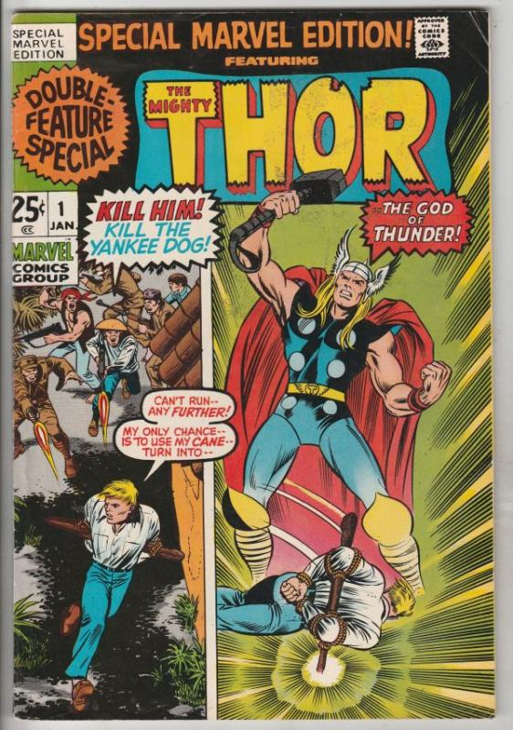 Thor, Special Marvel Edition #1 (Jan-71) VF High-Grade Thor, Odin