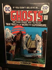 Ghosts #24 (1974) high-grade DC horror issue beauty! NM- Wow!