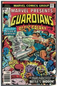MARVEL PRESENTS 8 F-VF Dec. 1976 Guardians