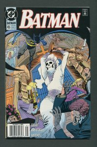 Batman #455 / 9.6 NM+  Newsstand  October 1990