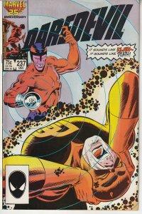 Daredevil(vol. 1)# 237  The Unbeatable Foe ?