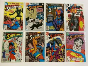 Superman lot 45 different from #1-49 6.0 FN (1987-90 2nd Series)