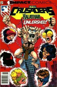 Crusaders (1992 series) #2, NM (Stock photo)