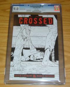 Crossed: Psychopath #6 CGC 9.0 retailer bonus edition - sketch variant - lapham