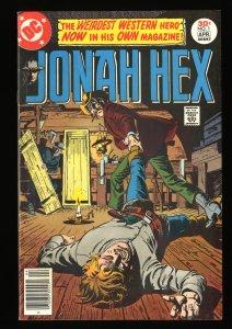 Jonah Hex #1 VF- 7.5