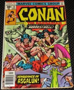 Conan the Barbarian #72 (1977)