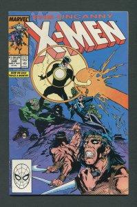 Uncanny X-Men #249 (1st Series 1963) /  7.5 VFN-  October 1989