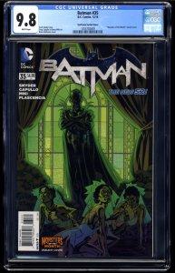 Batman (2011) #35 CGC NM/M 9.8 White Pages