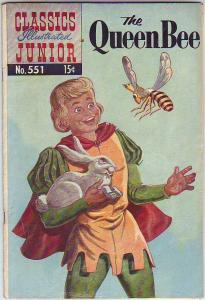 Classics Illustrated Junior #551 (Jun-58) GD+ Mid-Grade The Queen Bee