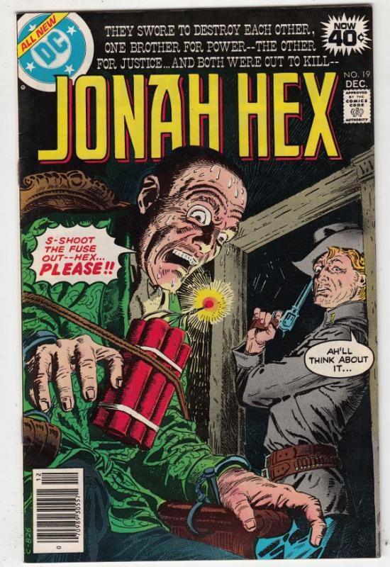 Jonah Hex #19 (Dec-78) NM Super-High-Grade Jonah Hex