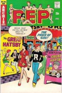 Pep Comics #295, VG- (Stock photo)