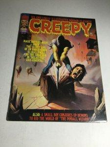Creepy 66 Vg Very Good 4.0 Cover Split Warren Magazine