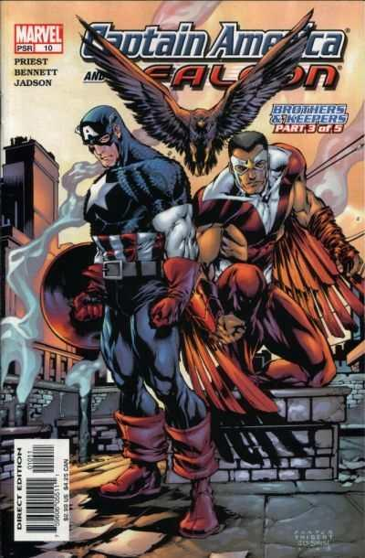 Captain America and the Falcon (2004 series) #10, NM (Stock photo)