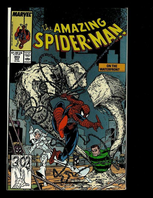 Amazing Spider-Man # 303 NM Marvel Comic Book Venom Todd McFarlane Art GB4