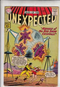 Tales of the Unexpected #62 (Jun-61) VG/FN+ Mid-Grade Space Ranger, Cyrl