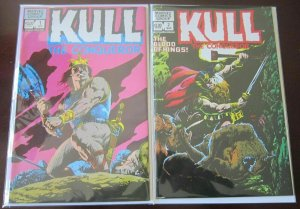 Kull 2nd series set from:#1+2 9.4 NM (1982)