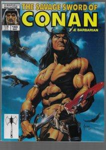 Savage Sword of Conan #143 (Marvel, 1987)