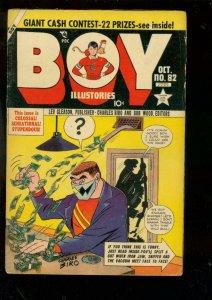 BOY COMICS #82-1952-CHARLES BIRO-IRON JAW-CRIMEBUSTER G