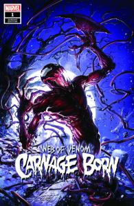 WEB OF VENOM CARNAGE BORN 1 CRAIN EXCLUSIVE VARIANT LOW PRINT RUN NM