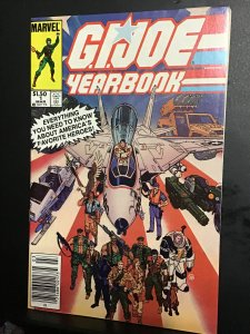 G.I. Joe Yearbook #1 (1985). First annual issue key! High-grade!  NM- Wow!