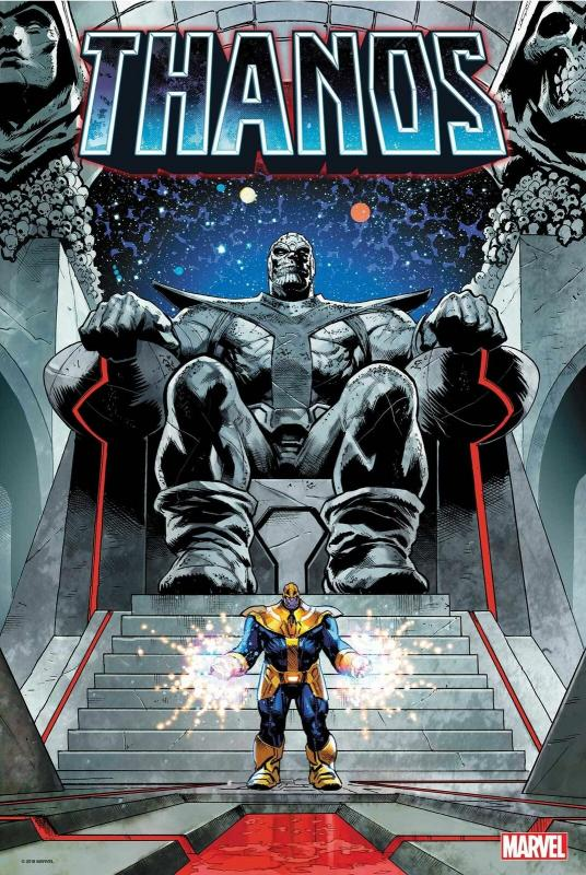 Thanos Legacy #1 Poster by Geoff Shaw (24 x 36) Rolled/New!