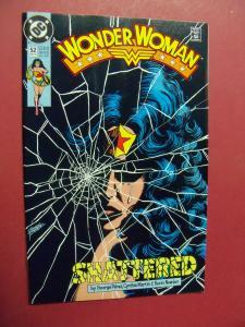 WONDER WOMAN #52 HIGH GRADE BOOK (9.0 to 9.4) OR BETTER 1ST Print 1987