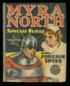MYRA NORTH SPECIAL NURSE #1497-FOREIGN SPIES-BIG LITTLE FN