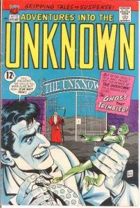ADVENTURES INTO THE UNKNOWN 172 GOOD COMICS BOOK