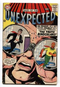 TALES OF THE UNEXPECTED #87 comic book 1965-DC COMICS-SCIENCE FICTION