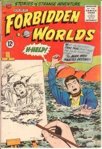 FORBIDDEN WORLDS 108 VG     Nov.-Dec. 1962 COMICS BOOK