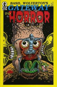 Gateway to Horror (Basil Wolverton's…) #1 VF; Dark Horse | save on shipping - de