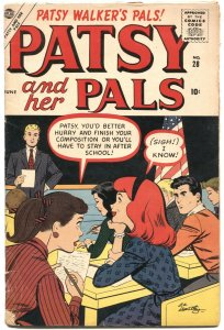 PATSY AND HER PALS #28-1957-PATSY WALKER-HEDY WOLFE-PAPER DOLLS-ATLAS