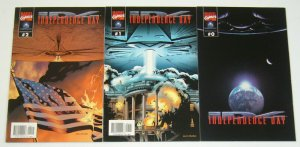 Independence Day #0 & 1-2 VF/NM complete series - movie adaptation & prequel