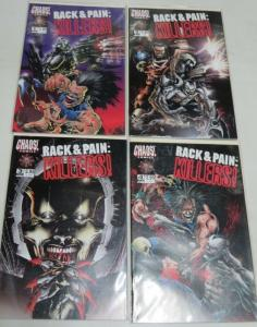 RACK & PAIN KILLERS 1-4  Brian Pulido complete story!
