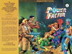 Power Factor (2nd Series) #1 FN; Innovation | save on shipping - details inside